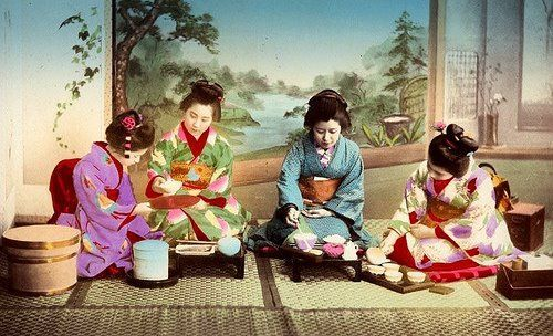 מסיבה יפנית של יום הולדת