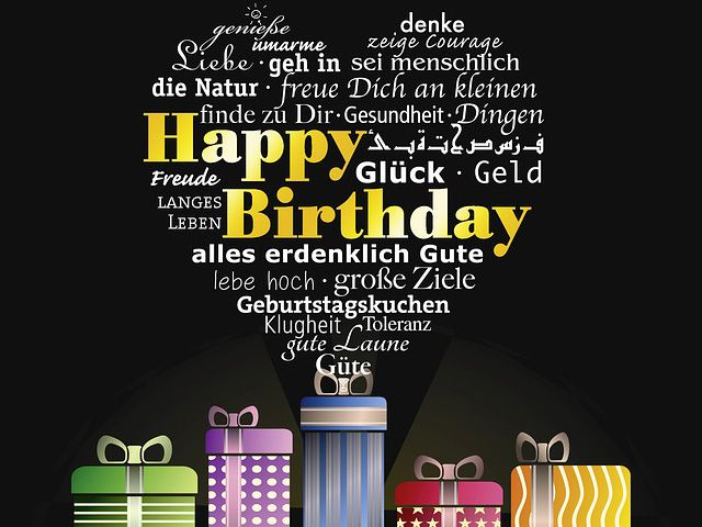 יום הולדת בכל השפות, יום הולדת בכל שפות
