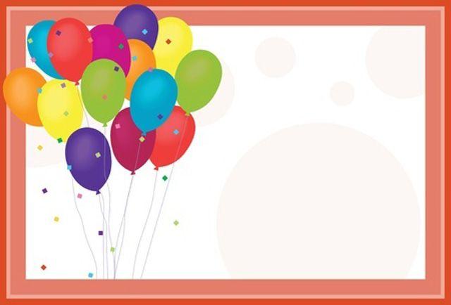 הזמנות ליום הולדת, הזמנה ליום הולדת