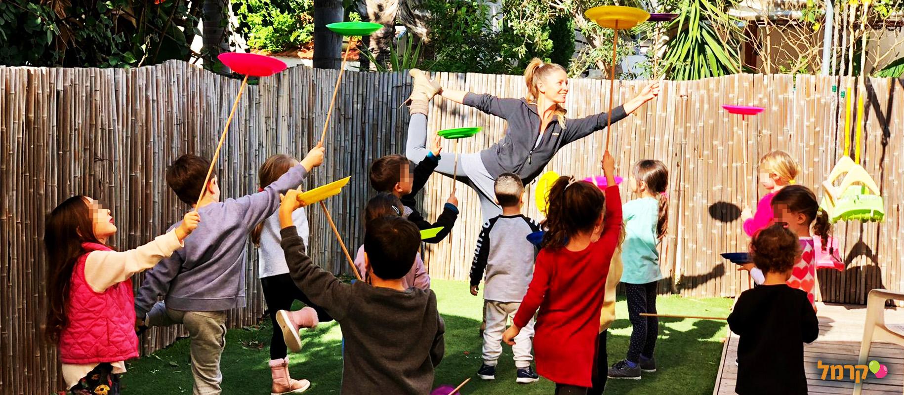 חוויה של יומולדת לילדים - 073-7585476