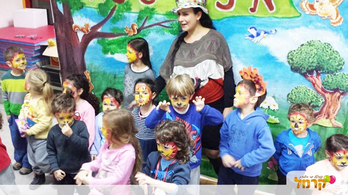 איפור סיפור - הפעלה לילדים  - 073-7027206