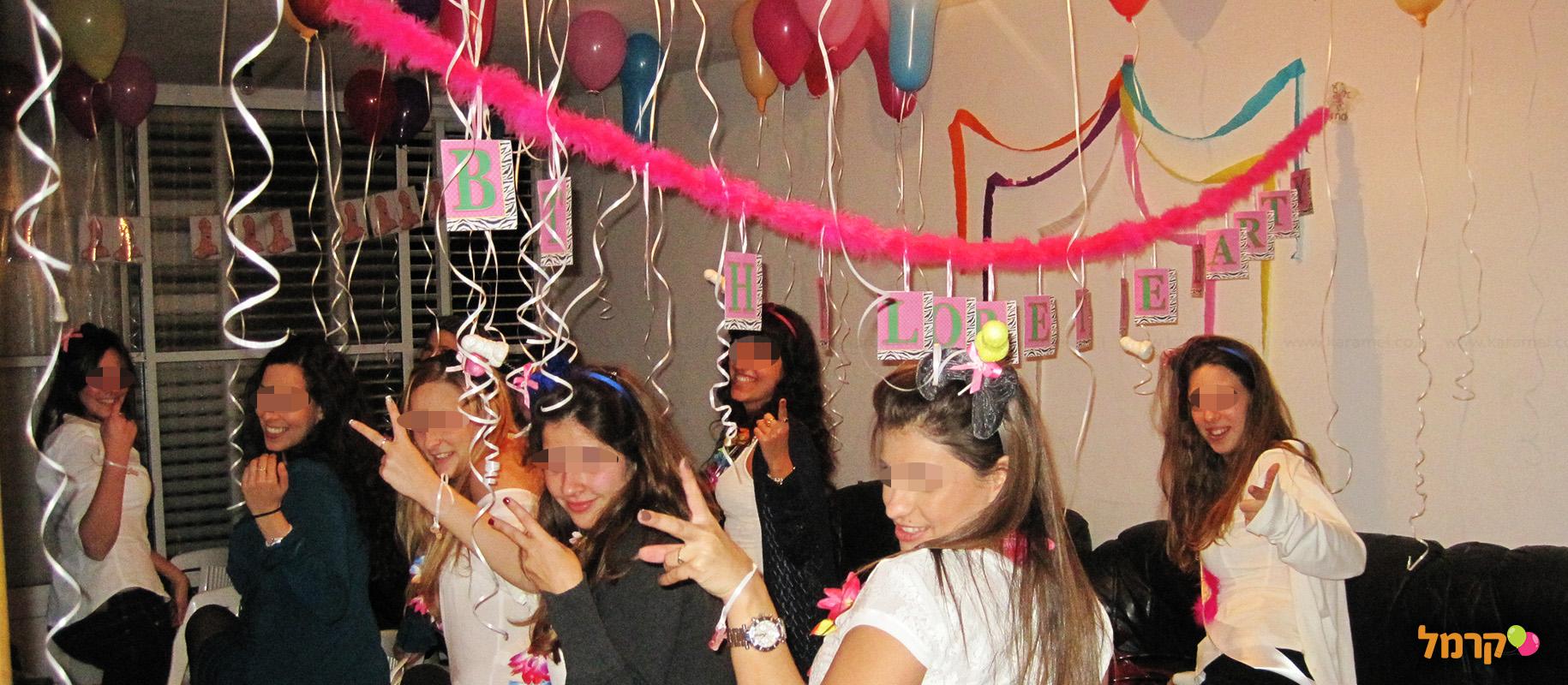 מסיבה לוהטת לרווקה הנחשקת - 073-7027620