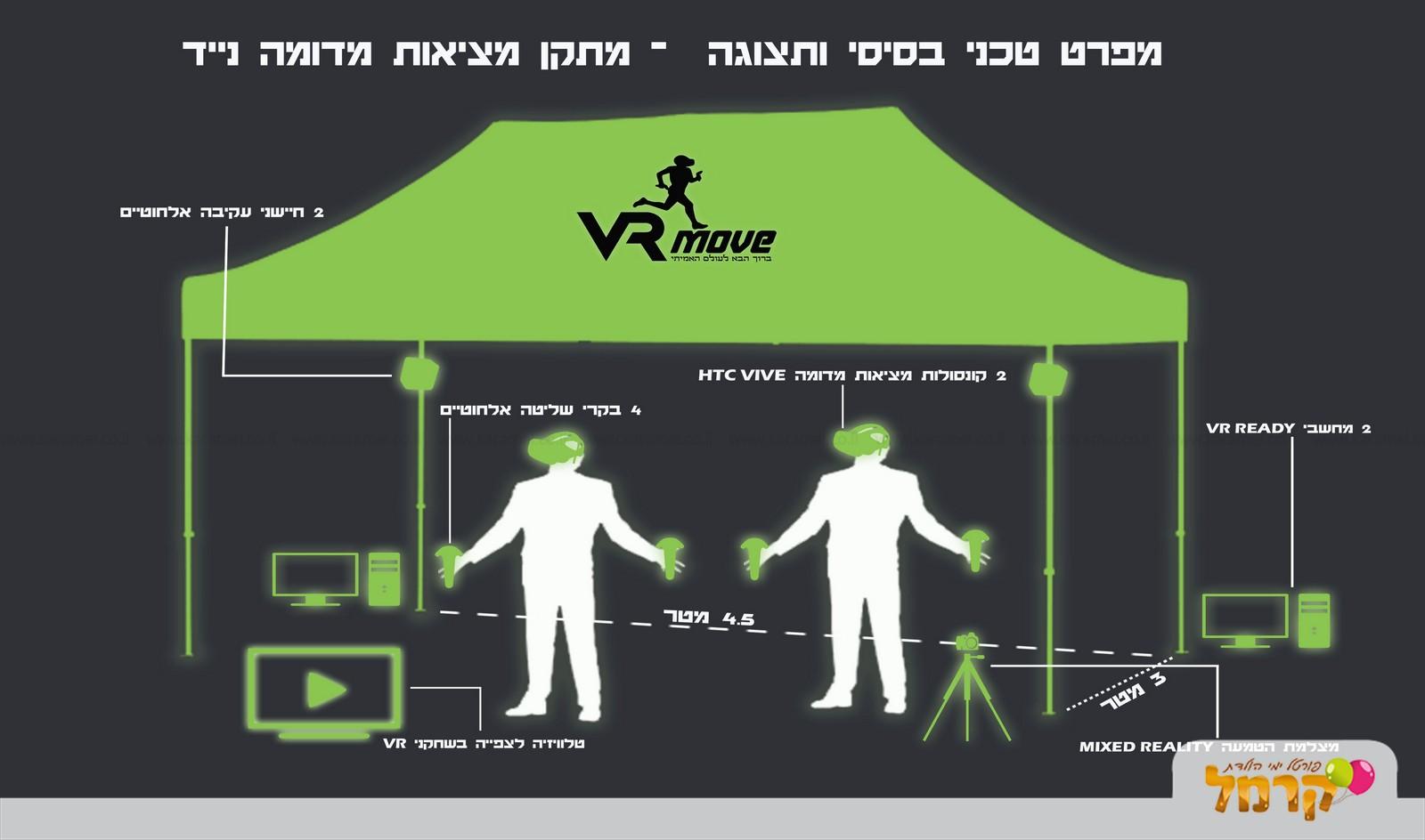 VR Move לחיות את המשחק - 073-7027530