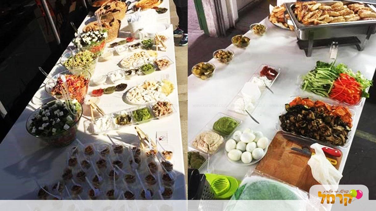 נויה אירועים - דוכני מזון - 073-7837702
