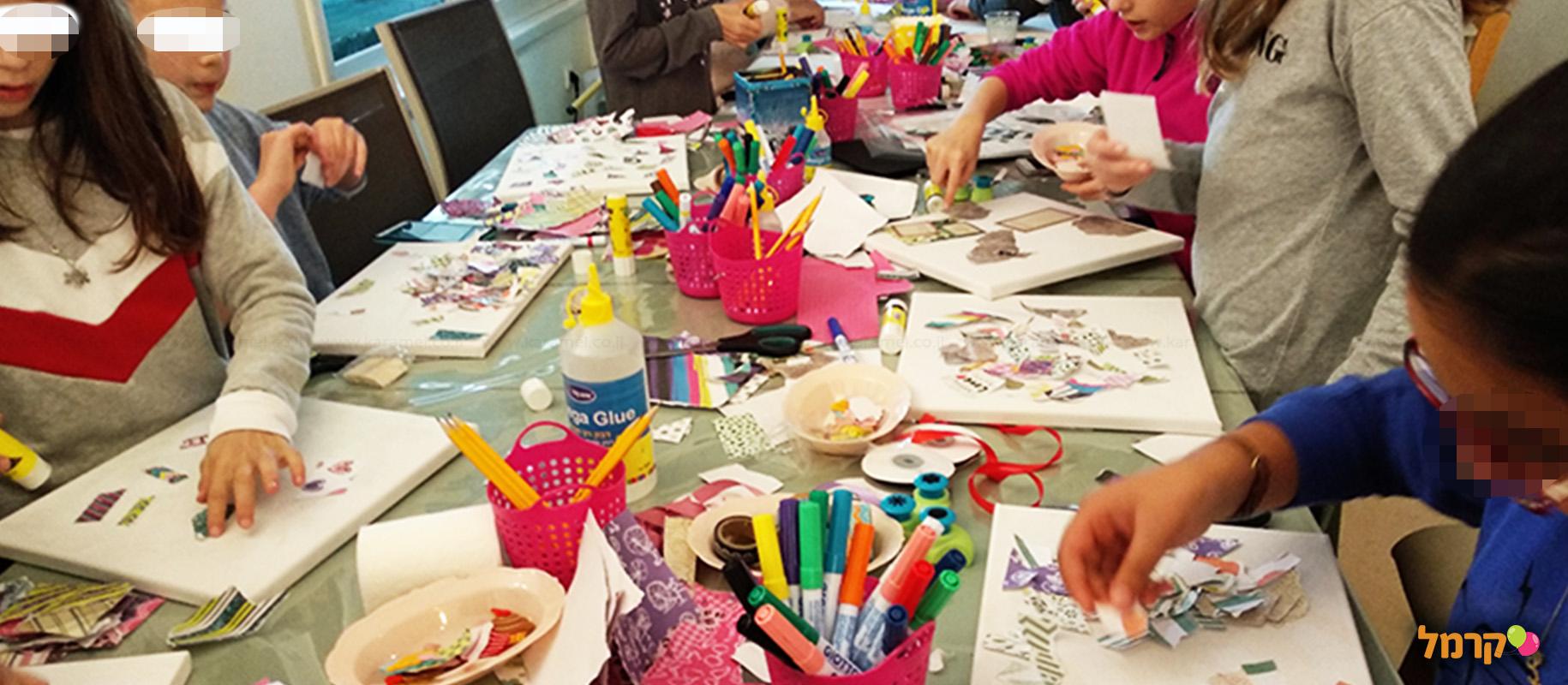 ילדות בצבע - יוצרים באהבה - 073-7599374