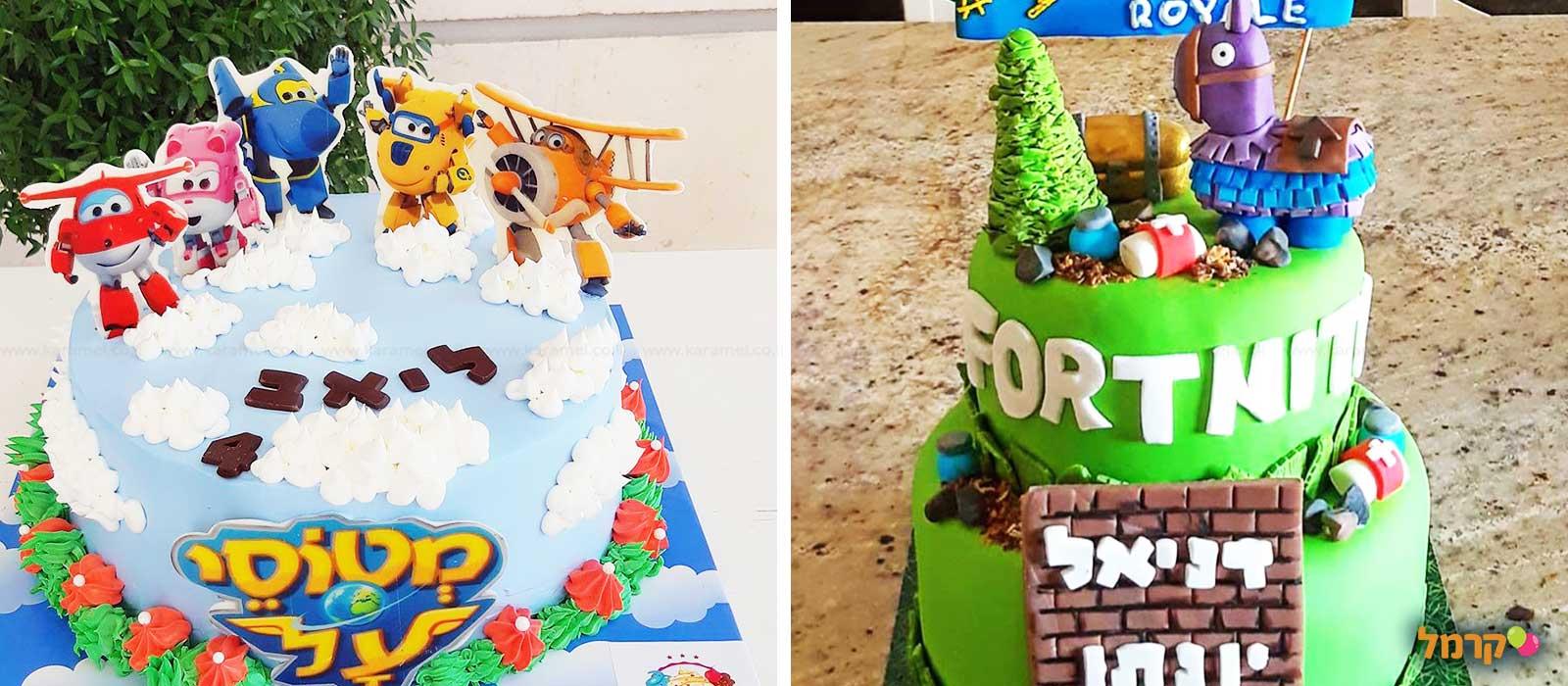איה - עיצוב עוגות לאירועים - 073-7834031
