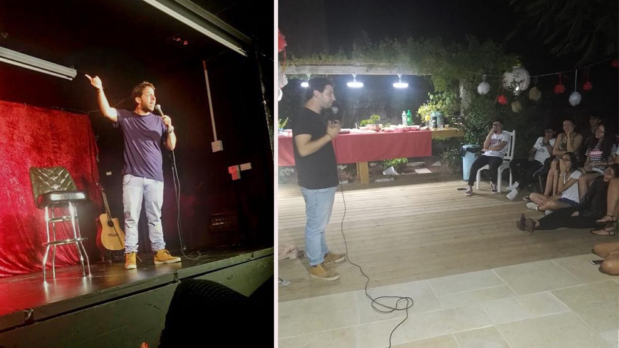 אוהד מימרן - במופע סטנדאפ פרטי - 073-7835762