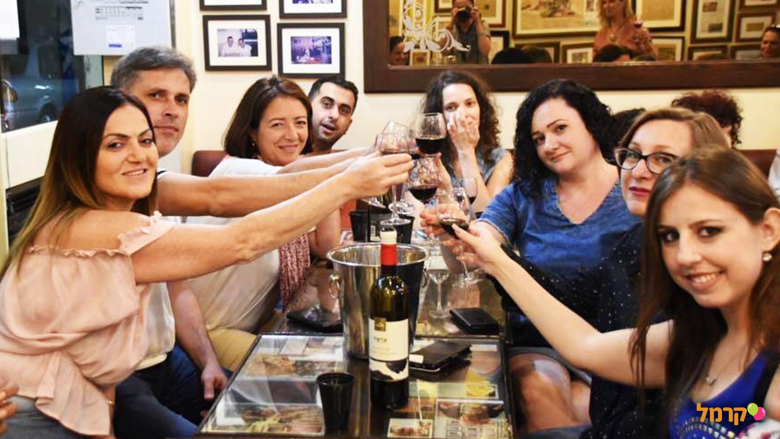 סדנאות יין מהנות ומפנקות עם אילת - 073-7756966