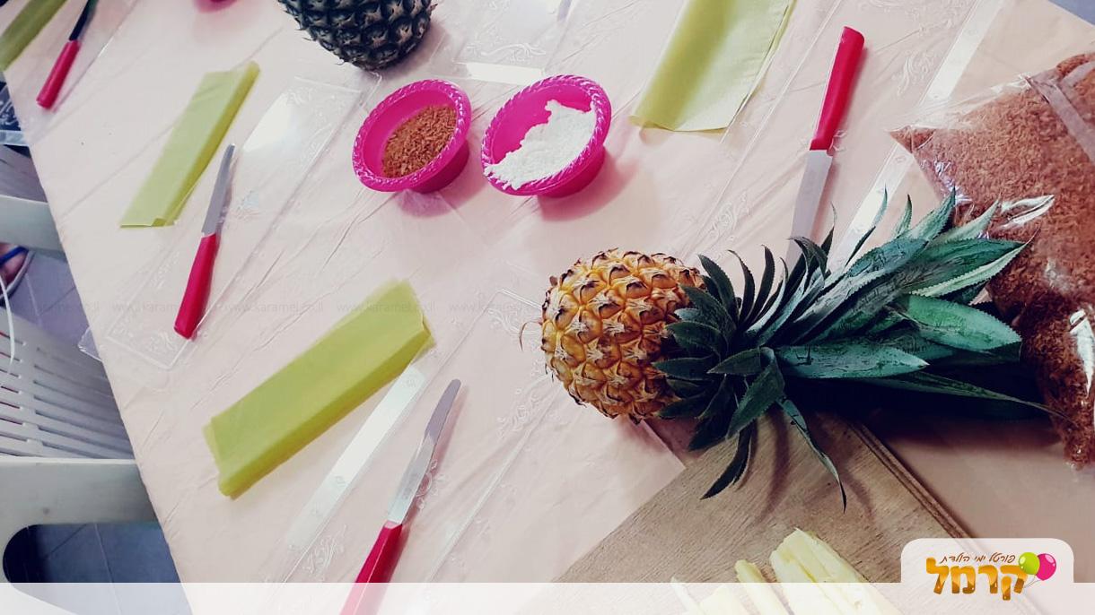 סדנת סושי וחיתוך פירות של פריתוקים - 073-7595146
