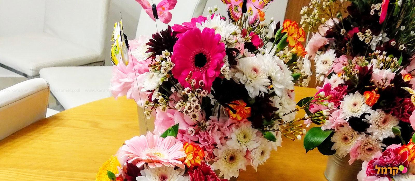 רווה בפרחים - סדנאות שזירה - 073-7026677