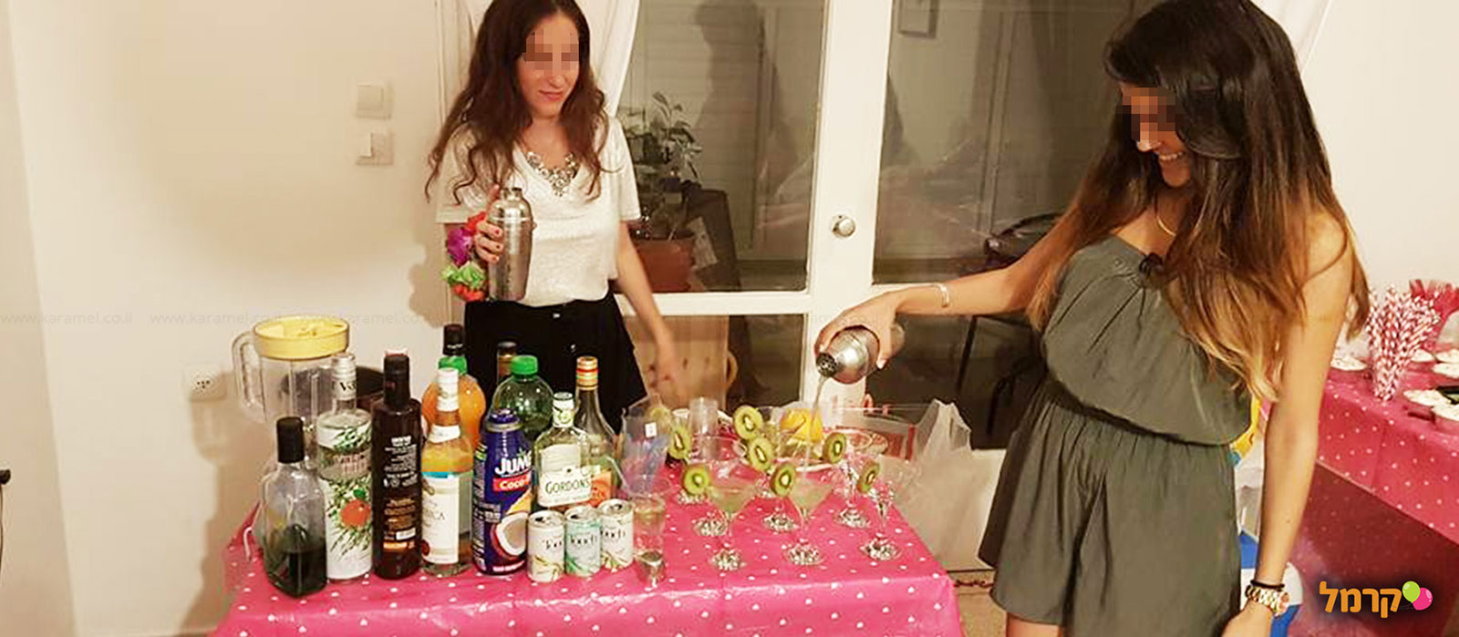 חגיגת קוקטיילים ומשחקי אלכוהול - 073-7025415