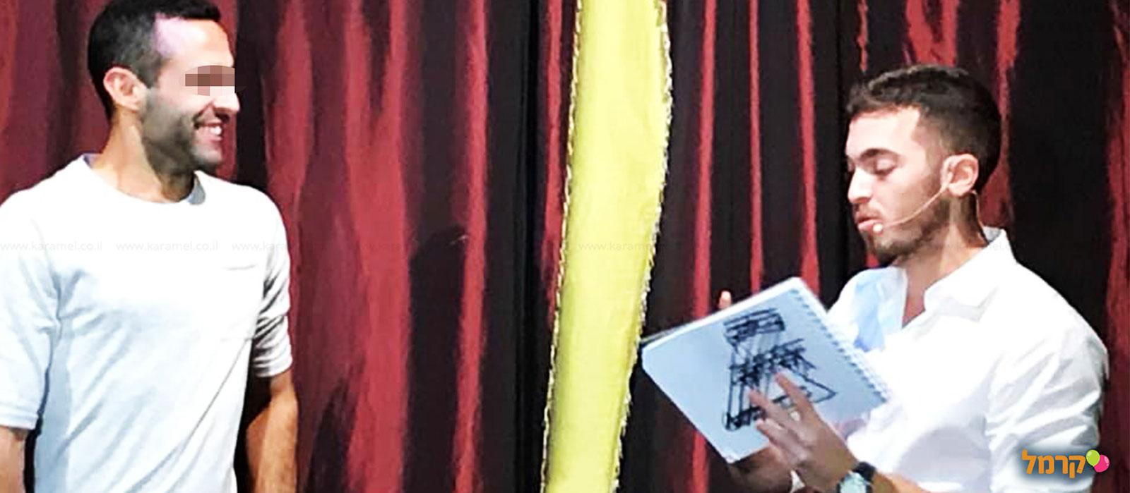 יוהן במופע מנטליזם חדשני - 073-7840232