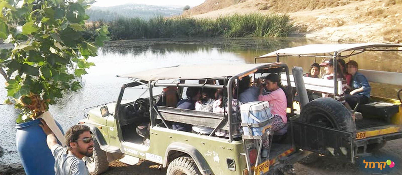 אשד הנחלים - טיולי גיפים בצפון - 073-7026396