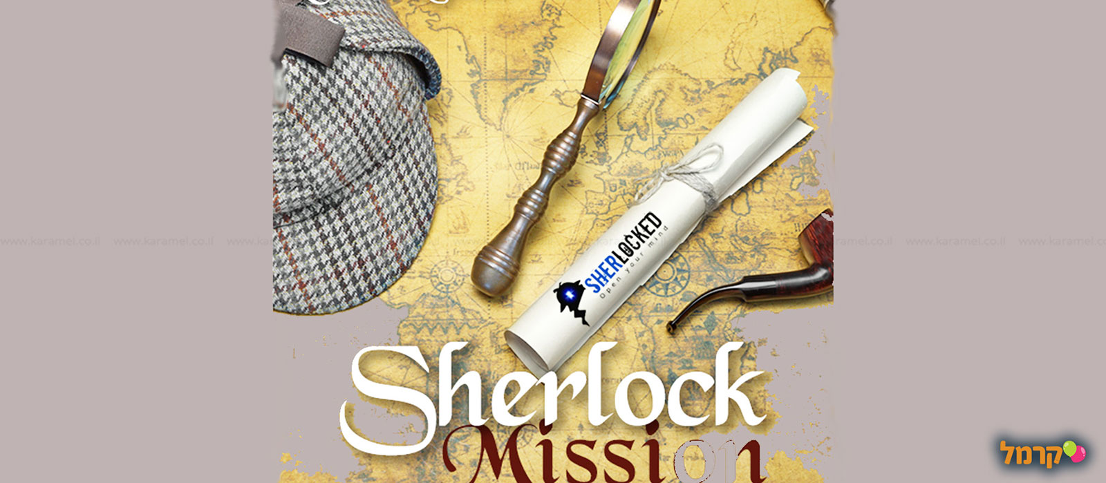 Sherlocked חדרי בריחה - 073-7025442