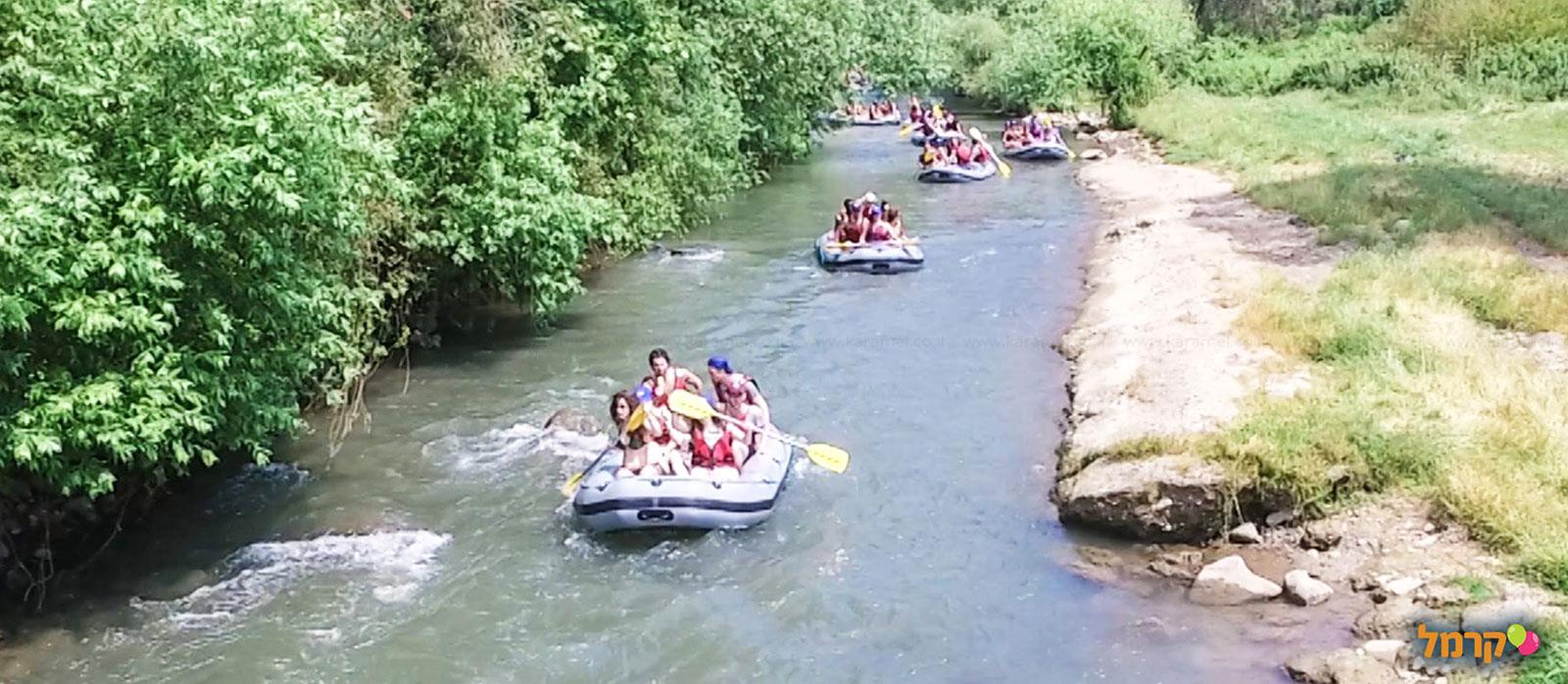 רפטינג נהר הירדן - 073-7590484