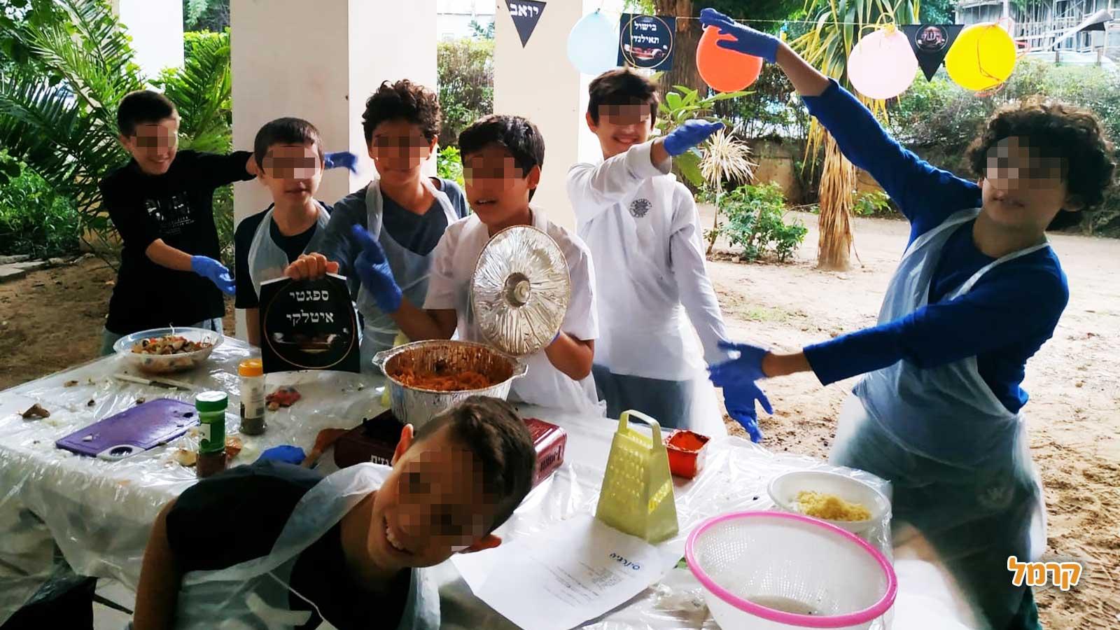 סינרקידס - סדנות טעימות לילדים - 073-7026332