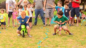אצו רצו- מסלול מירוצים לילדים