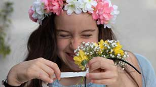 פשוט אוהבת - שזירת פרחים